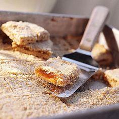 Crunchy Oat-Apricot Bars | CookingLight.com