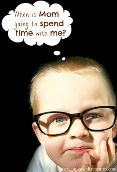 Having a hard time finding one-on-one time with each of your kids? Here's a simple plan that works and even YOU have time for! #parenting #oneononetime #kids