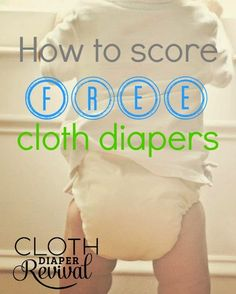 How to score FREE cloth diapers! #clothdiapers