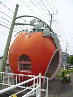 Tomato Bus Shelter