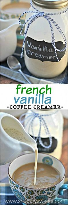 French Vanilla Coffe