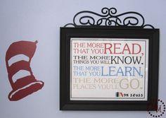 The Scrap Shoppe: Photo Collage & Seuss Quote Printable