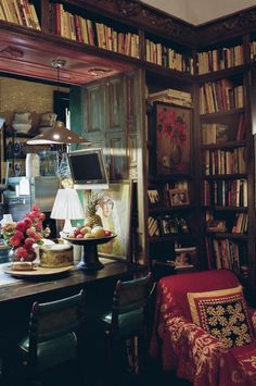 Bohemian kitchen - Cozy and romantic reading nook
