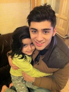 Zayn and cousin Akansha