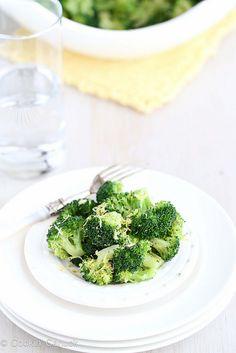 Lemon Pepper Steamed Broccoli Recipe