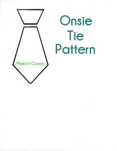 Make it Cozee: Tutorial: How to Make a Tie Onsie