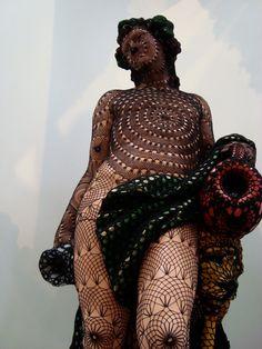 Joana Vasconcelos crochet art