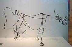 Vache (Cow)  about 1929 Alexander Calder,American American, 1898–1976. MFA, Boston  by renzodionigi, via Flickr