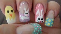 Easter Nails - Nail Art Gallery by NAILS Magazine #nailart