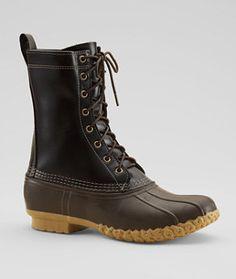 "LL Bean Signature Bean Boot 10"" - Black"