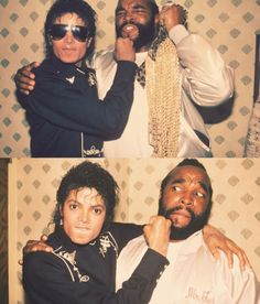 Michael Jackson and Mr. T`