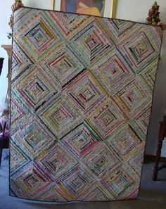 I may have enough to make this selvedge quilt now...Think I do, too!
