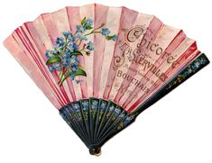 Vintage French Fan