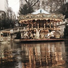 Carousel at the base of Sacre Coeur. My favourite.