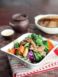 Black Pepper Beef and Stir-Fry : Recipes : Cooking Channel