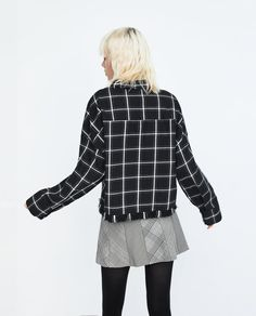FRAYED CHECKED SHIRT