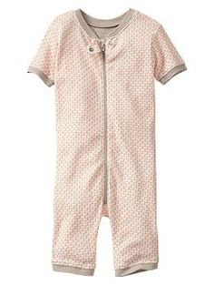 Flower print sleep one-piece | Gap