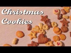 ▶ 7 Easy Miniature Christmas Cookies - Polymer Clay Tutorial - YouTube