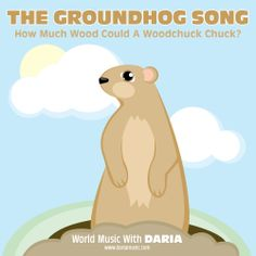 Silly Songs for Kids: The Groundhog Song from Tiny Tapping Toes