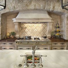 Traditional Spaces Napolina Stone Tile Design, Pictures, Remodel, Decor and Ideas