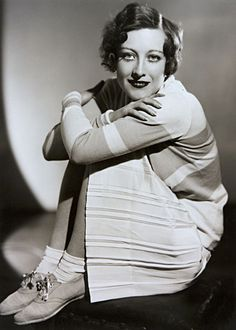 Joan Crawford 1929 by Ruth Harriet Louise.