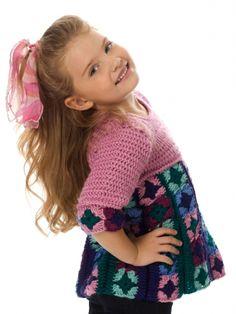 Just Plain Fun Child's Top: free #crochet pattern