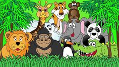 Animals at the Zoo sounds for Tablet Time