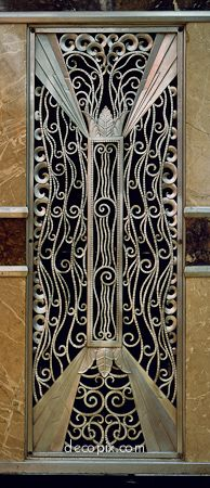 Art Deco Ventillation Grille, Goelet Bldg., NYC