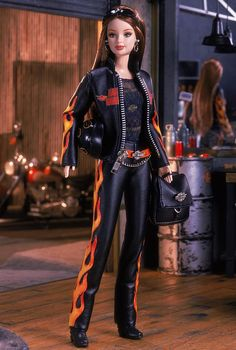Harley-Davidson Barbie.