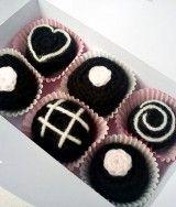 Crochet Chocolate Magnets gift set
