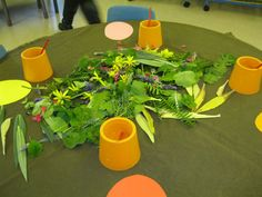 Irresistible Ideas for play based learning pasting with winter flora