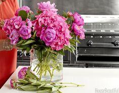 flower gardening, flower market, peoni