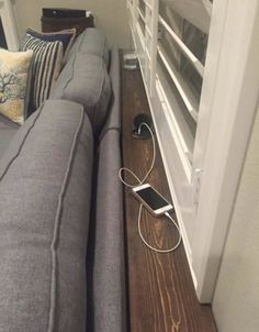 Custom Sofa Table w/ Charger for Sale in Norco CA
