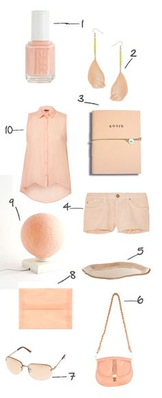 dis color, erinloechn color, color peach, nude, girl outfit, dress, colors, peaches, fashion queen