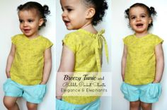 Breezy Tunic Tutorial By Elegance & Elephants
