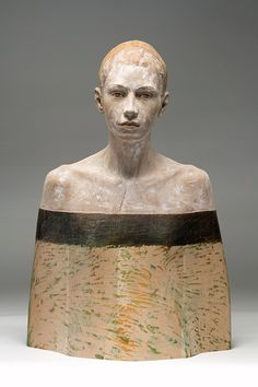 wooden sculptures by  bruno walpoth.