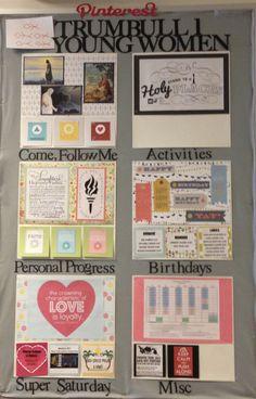 YW Bulletin Board Idea young women bulletin board, young woman, churchyoung women, lds bulletin boards, yw bulletin board, women idea, yw idea, board idea, young women board