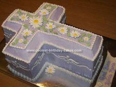 cross cake daisy