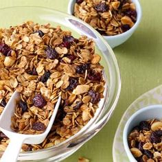 Get-Up-and-Go Granola Recipe from Taste of Home -- shared by Sabrina Olson, Otsego, Minnesota