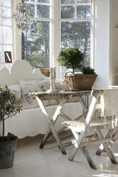 swedish country decor | Country Style Chic: White Wash and Linen - Swedish Style