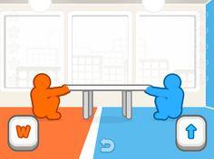 3D Masa Çekme oyununu ister bilgisayara karşı oynayabilir ister arkadaşınızla beraber 2 kişilik oynayabilirsiniz. Oyunu oynayacağınız oda da iki karakter bulunuyor. Oda mavi ve turuncu olacak şekilde tam ortadan ikiye ayrılmış ve her iki tarafa da eşit seviyede olacak şekilde yerleştirilmiş bir masa bulunuyor. Oyundaki amaç bu masayı kendi tarafınıza çekmeye çalışmak olacak.   http://www.3doyuncu.com/3d-masa-cekme/