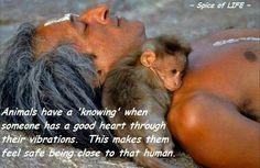 this man, animals, safety, god, heart
