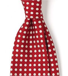 Funnily enough, the girl likes the red spotty tie.