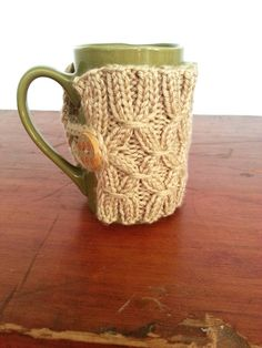 Bottomless Knit Mug Warmer The Velvet Cove