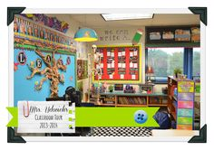 Here's my classroom!  Come check it out for inspiration!