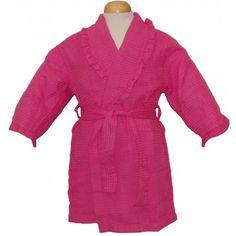 Pendergrass Children's Ruffled Cover-Ups #bathrobeshoppe www.bathrobeshoppe.com