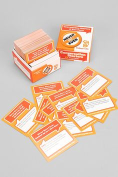 Never Have I Ever College Edition Card Game