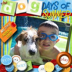 Days of Summer, digital layout by scrappinitup