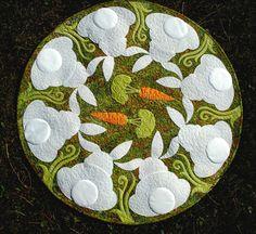 Applique Quilt Patterns | Honey Bunny Applique Quilt Pattern PDF by JoAnnHoffmanDesigns