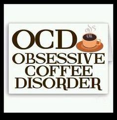 OCD - Yep...this is me.